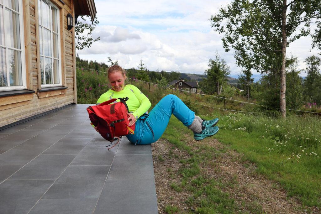 Rucking styrketrening med sekk! Bli klar for fjellturen