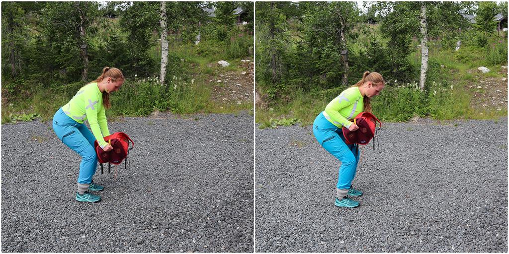 rucking trening med ryggsekk