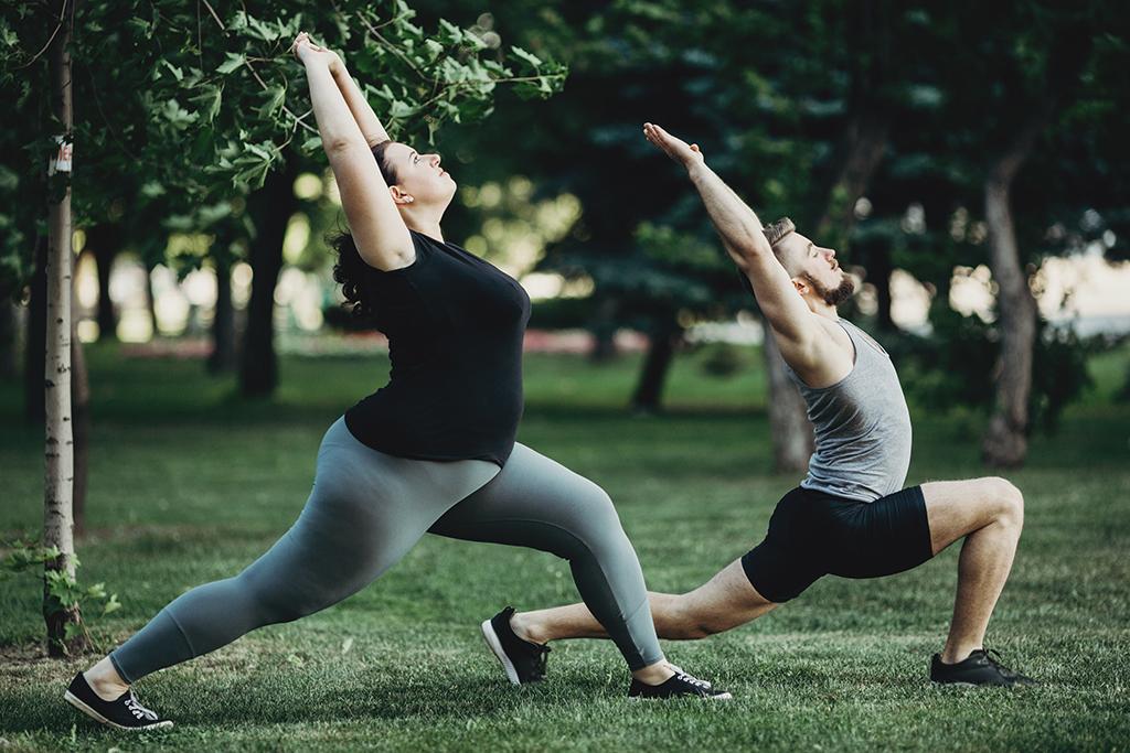 Fysisk aktivitet og depresjon spis tren tenk adobestock